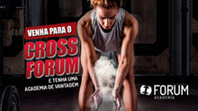 CrossForum é o destaque da nova campanha da Forum Academia