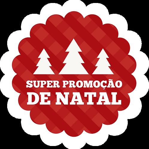 Adesivo Promocional Natal Modelo 01 02