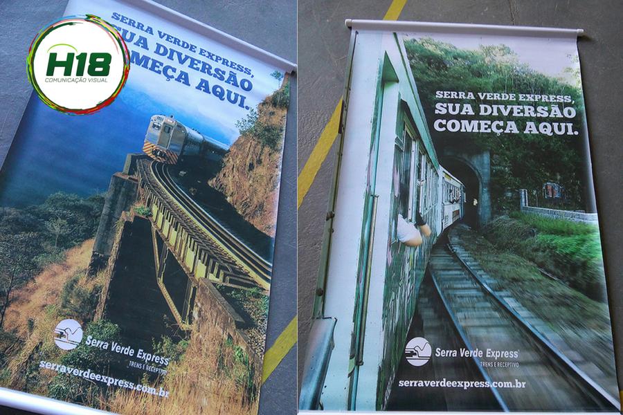 Banners Serra Verde Express