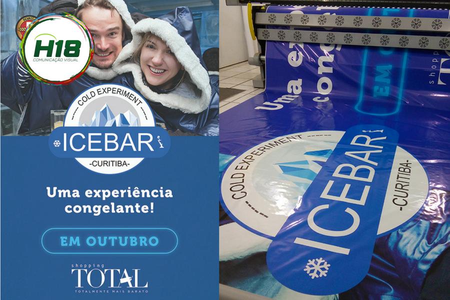 Promocional Ice Bar