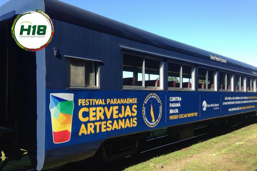 Lona Promocional Serra Verde Express