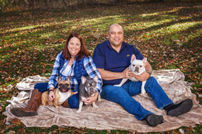 A Family of Frenchies! Long Valley, New Jersey, Pet  and FamilyPortrait Photography