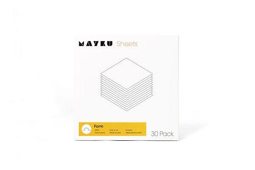 Mayku FormBox Form Sheets (30 Pack)