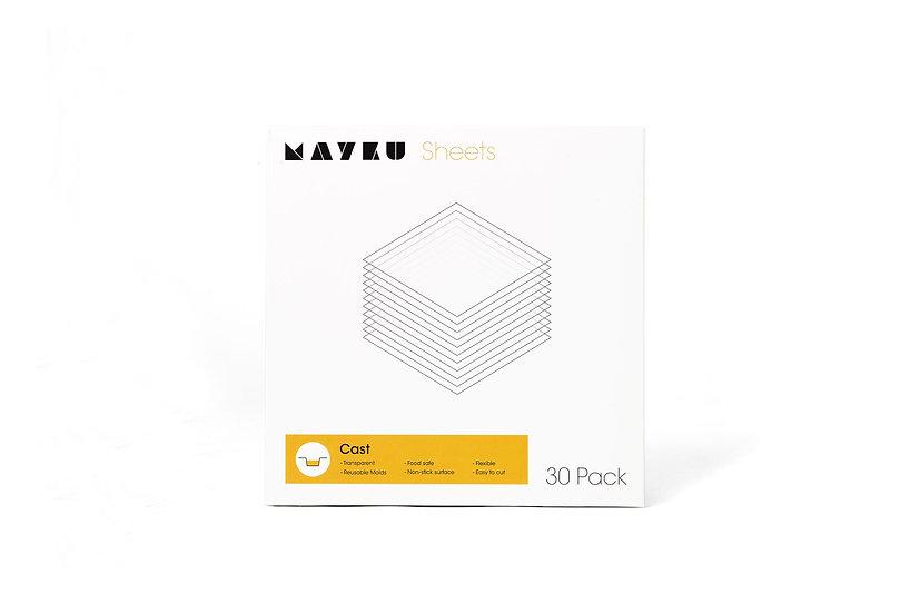 Mayku FormBox Cast Sheets (30 Pack)