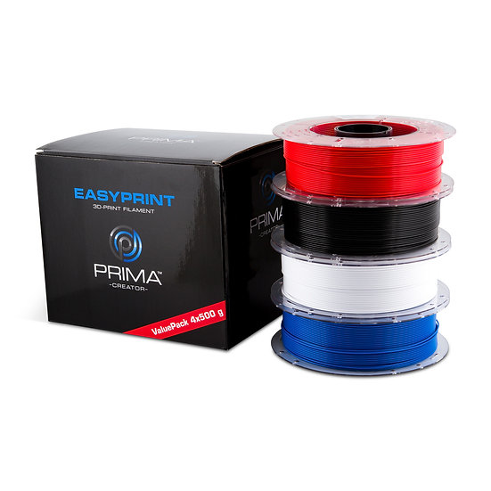 EasyPrint PLA Value Pack Standard - 1.75mm - 4x 500 g (Total 2 kg)