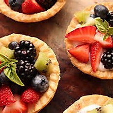 Fruit and Cream Tarts
