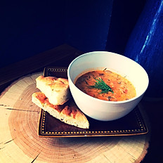 Daily Soup Specials with Focaccia
