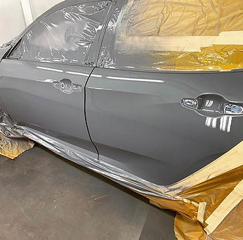 Grey Vehicle Paint