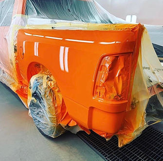 Orange Vehicle Paint
