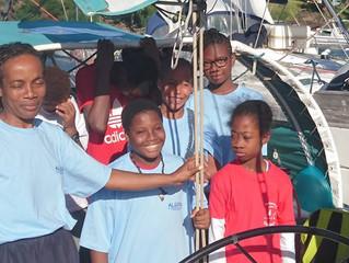 Nos actions aux Antilles avec les enfants de l'ALEFPA en Guadeloupe
