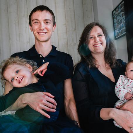 Séance nouveau-né et famille à Vincennes