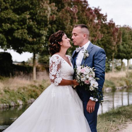 Mariage d'été à l'Orée du Plessis