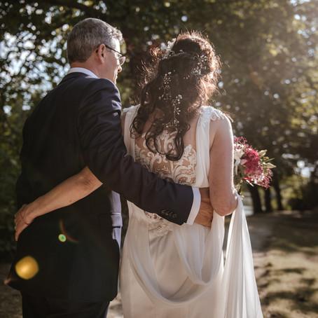 Mariage d'été au Chalet de la Porte Jaune