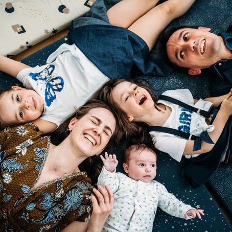 Séance famille à Montreuil