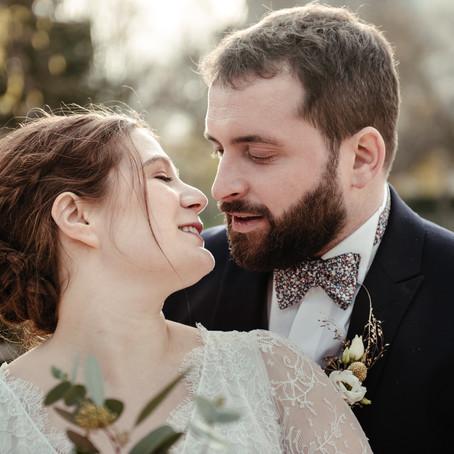 Mariage de novembre au Château de Verderonne