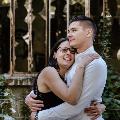 Séance couple, Jardin d'Agronomie Tropicale et lieux abandonnés