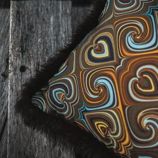 Detail Kissendesign: Caramel