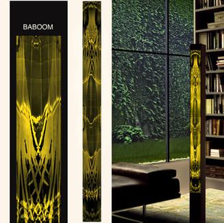 Lichtklexx: Leuchtfläche Baboom
