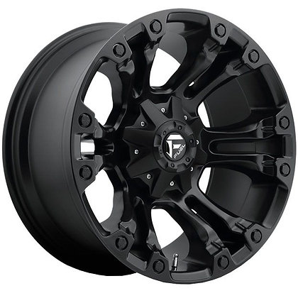 Fuel Vapor 20X9 6X139.7 Matte Black
