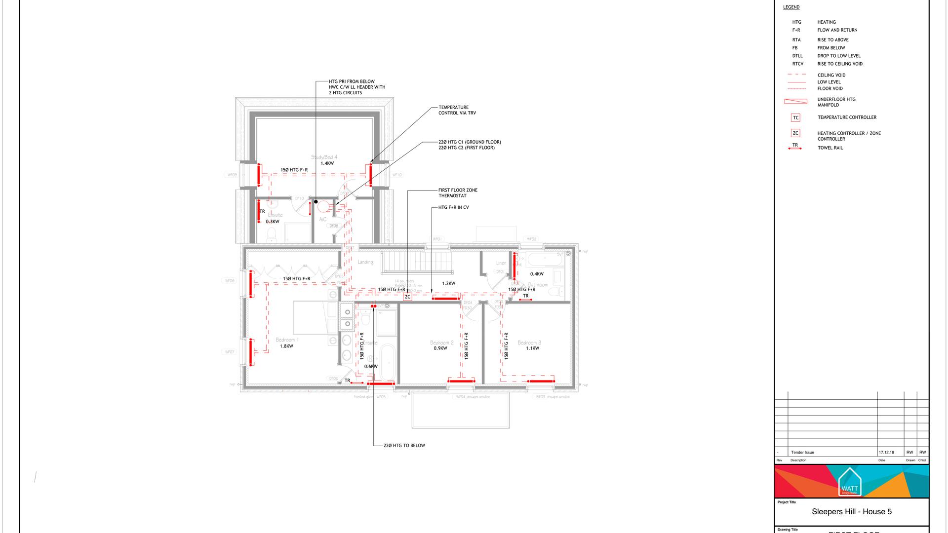 H V00 - Sleepers Hill - House 5 - Heatin