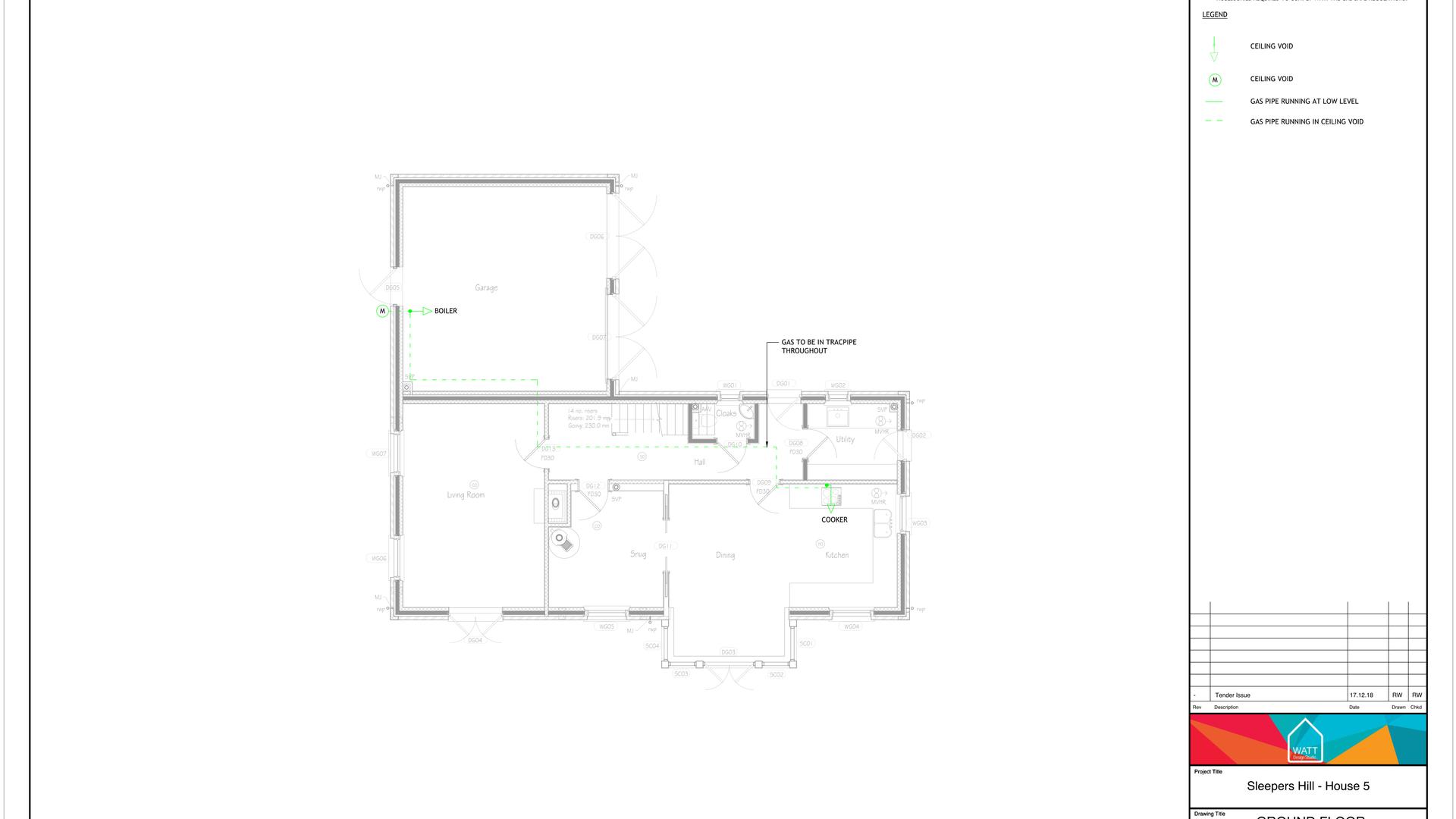 G V00 - Sleepers Hill - House 5 - Gas La
