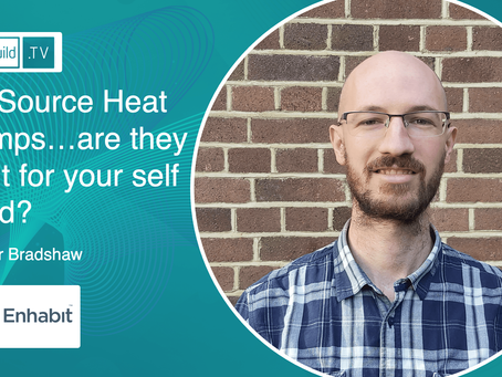 Air Source Heat Pumps…are they right for your self build? With Kaspar Bradshaw