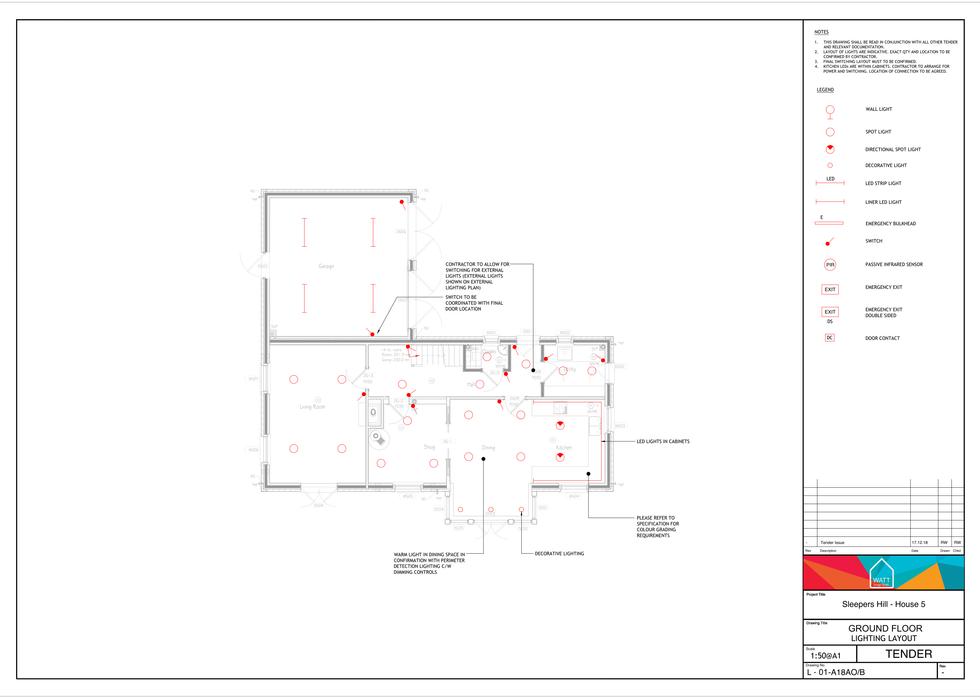 L V00 - Sleepers Hill - House 5 - Lighti