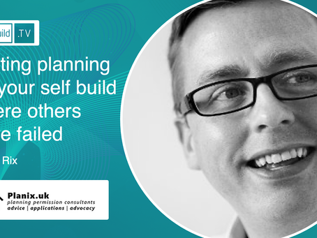Getting planning for your self build where others have failed