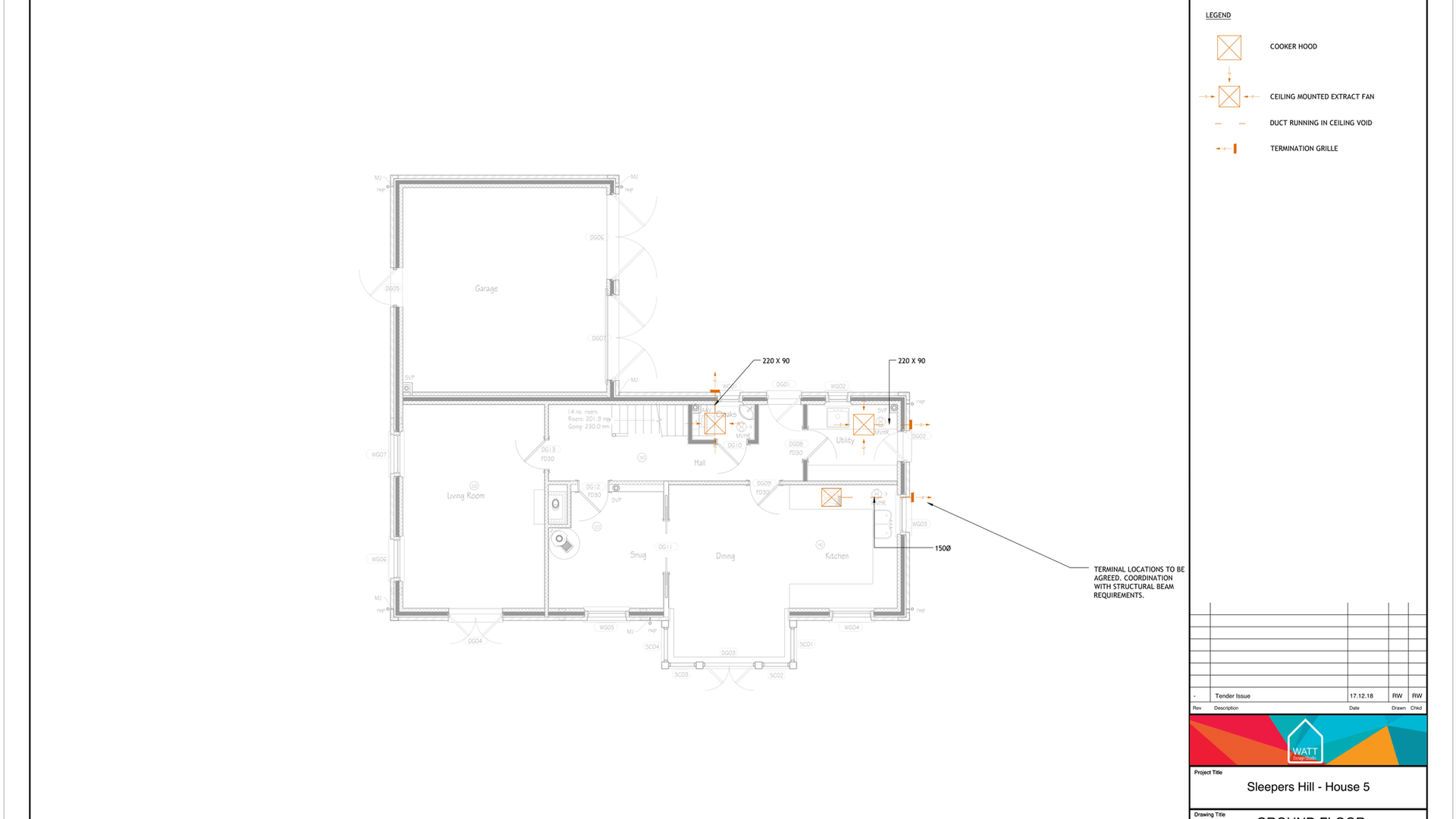 V V00 - Sleepers Hill - House 5 - Ventil