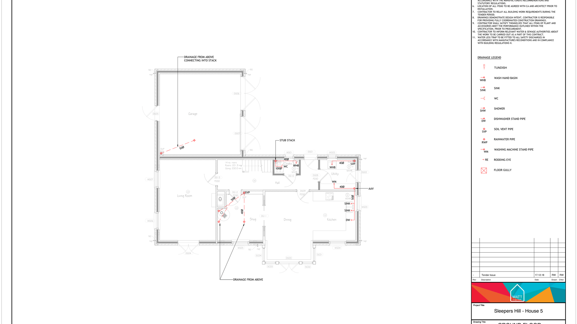 D V00 - Sleepers Hill - House 5 - Above