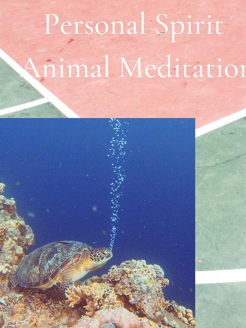 Personalized Spirit Animal Meditation