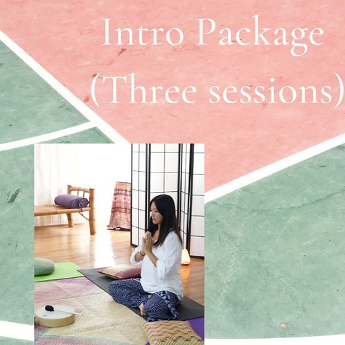 Intro Package (Three sessions)