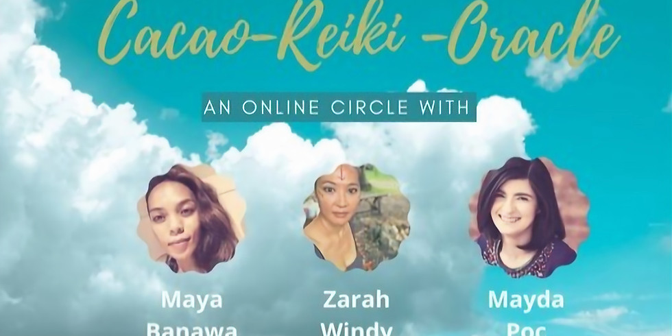 Cacao + Reiki + Oracle