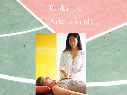 Reiki course add-on call