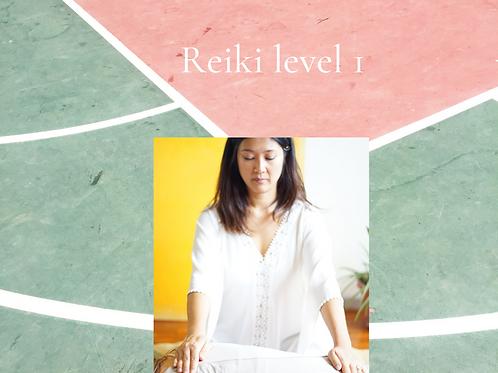 Reiki level 1 Certification course