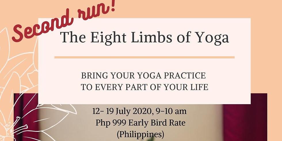 Yoga for Daily Life - Eight Limbs of Yoga