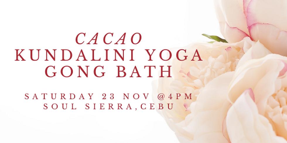 Cacao + Kundalini Yoga + Gong Bath
