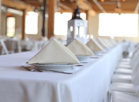 Maximaal profileren: tussen tafellaken en servet