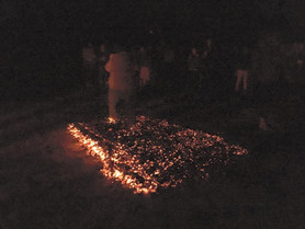 I walked on fire....