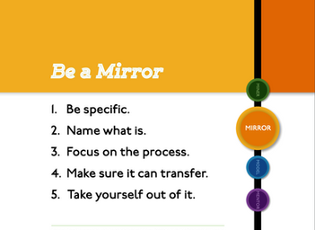 Choose To Be a Mirror