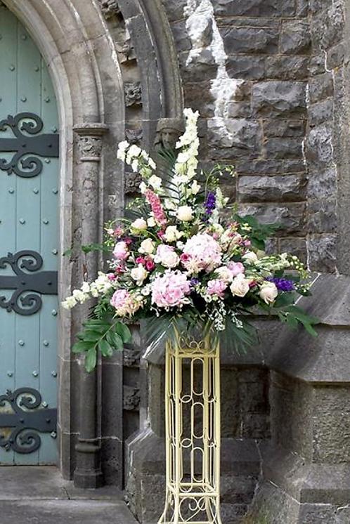 Pedestal arrangements £90 - £200