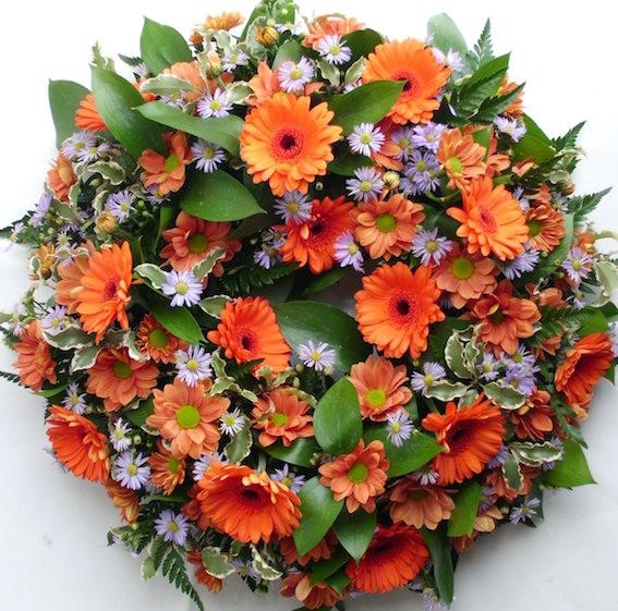 orange and lilac wreath.sml.JPG