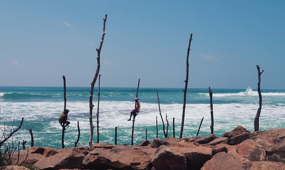 The stilt fishermen of Midigama