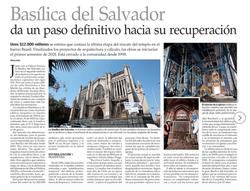 Basílica del Salvador da un paso definitivo hacia su recuperación