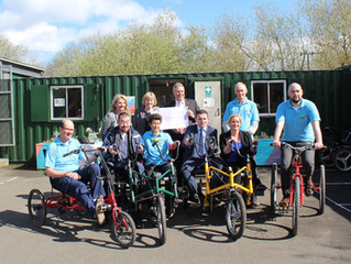 Cycling 4 All /Pedal Power are looking for new Trustees to join the Board