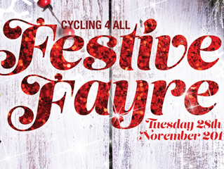 Tickets are selling fast for our Festive Fayre.