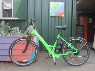 Rocky Tops donate electric bike!