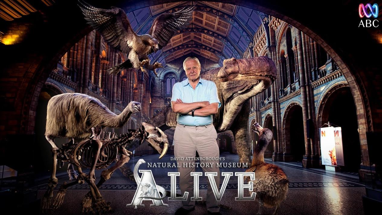 David Attenborough NHM -Ilan Eshkeri