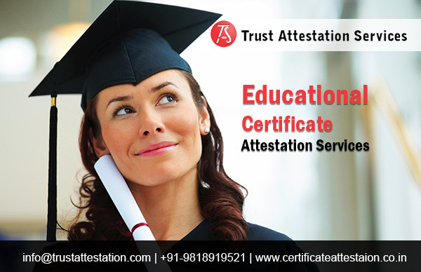 Documents Apostille Attestation Services in India
