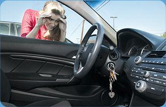 locked key in the car